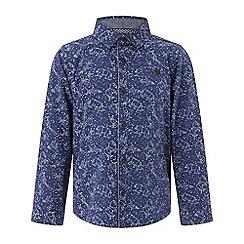 Monsoon - Boys' blue Luke' constellation long sleeve shirt