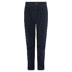 Monsoon - Boys' blue 'Felix' cord trouser