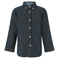 Monsoon - Boys' black 'Lucas' mandala shirt