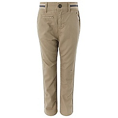 Monsoon - Boys' grey Stevie' chinos