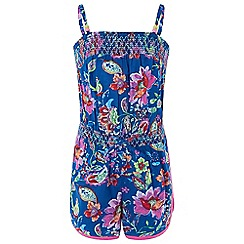 Monsoon - Girls' blue 'Cosima' playsuit