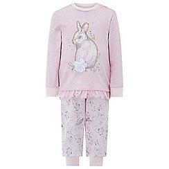 Monsoon - Baby girls' pink Selena Bunny PJ
