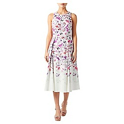 Monsoon - Ivory Felicity print dress