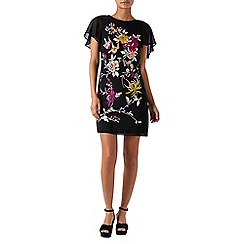Monsoon - Black 'Ola' embroidered tunic dress