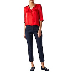 Monsoon - Red Beatrise' frill neck top