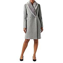 Monsoon - Grey Henrietta coat