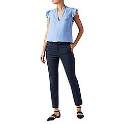 Monsoon - Blue Bonnie' regular trousers