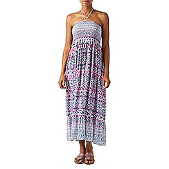 Monsoon - Multicoloured  Immy' ikat bandeau midi dress