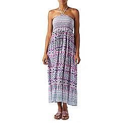 Monsoon - Multicoloured  Immy' ikat bandeau midi dress