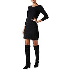 Monsoon - Black 'Halle' heat seal dress