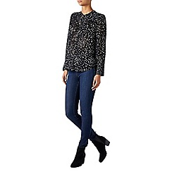 Monsoon - Black 'Celeste' star print shirt
