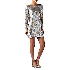 Monsoon - Silver 'Juliet' sequin dress