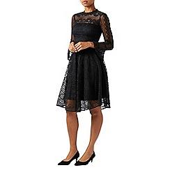 Monsoon - Black lize lace dress