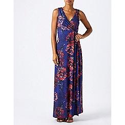 Monsoon - Blue mae maxi dress