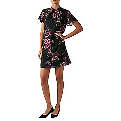 Monsoon - Black 'Giselle' print dress