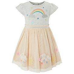 Monsoon - Pink Baby girls' 'Lisa Jane' Disco Dress