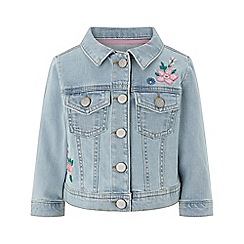 Monsoon - Blue Baby girls' 'Ellie' Denim Jacket