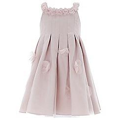 Monsoon - Baby girls' pink 'Kali Rose' dress