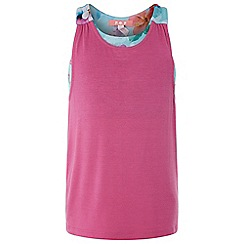 Monsoon - Girls' Pink 'Lexy' 2in1 Top