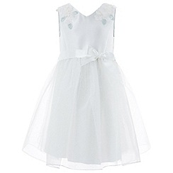 Monsoon - Girls' white 'Anouk' Dress