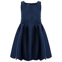 Monsoon - Girls' Blue 'Mila' Dress