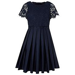 Monsoon - Girls' Blue 'Tennessee' Dress