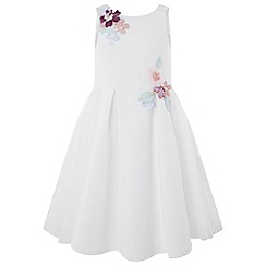 Monsoon - Girls' White 'Delilah' Dress