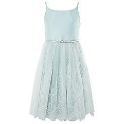 Monsoon - Girls' Green 'Marakesh' Dress