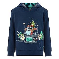 Monsoon - Boys' Blue 'Billy Bug' hoodie
