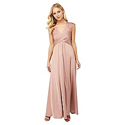 Monsoon - Pink 'Gwyneth' lace maxi dress