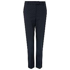 Monsoon - Blue 'Misty' spot smart trouser