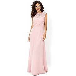 Monsoon - Pink Maisie maxi dress