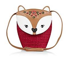 Monsoon - Brown novelty fox bag