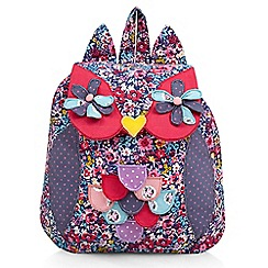 Monsoon - Multi-coloured 'Elsie' owl rucksack