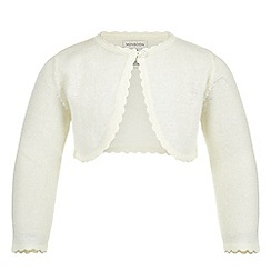 Monsoon - White baby 'Niamh' cardigan