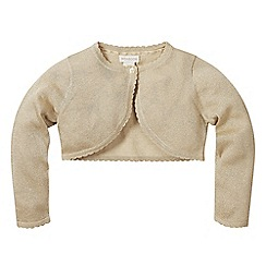 Monsoon - Gold baby 'Niamh' cardigan