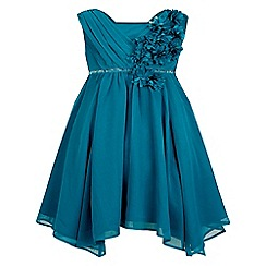 Monsoon - Blue girl's 'Natalia' dress