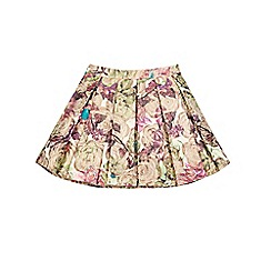 Monsoon - Multi-coloured girl's 'Alessandra' jacquard skirt