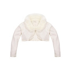 Monsoon - White girl's 'Firenze' cardigan