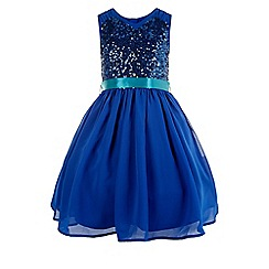 Monsoon - Blue edria dress
