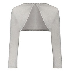 Monsoon - Silver girl's 'Niamh' cardigan