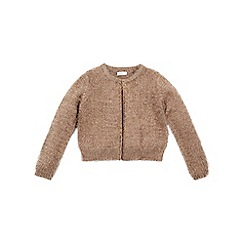 Monsoon - Gold girl's 'Mable' cardigan