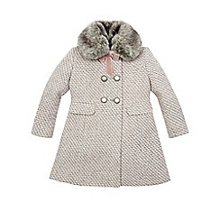 Monsoon - Pink girl's 'Amelia' coat