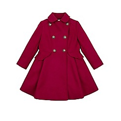 Monsoon - Red girl's 'Rosie' frock coat