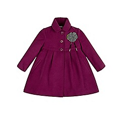 Monsoon - Purple girl's 'Betsy' coat