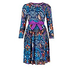 Monsoon - Multi-coloured girl's 'Enchanted' jersey dress