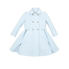 Monsoon - Blue girl's 'Bluebell' coat