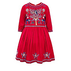 Monsoon - Red girl's 'Foxy' dress