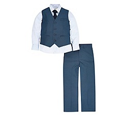 Monsoon - Navy john 4pc suit set