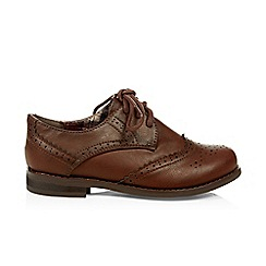 Monsoon - Brown boy's brogues